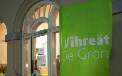 Vihreän valtuustoryhmän kynnyskysymykset koulutus ja kestävä kehitys
