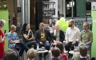 Vihreiden puheenjohtajaehdokkaat Tampereella