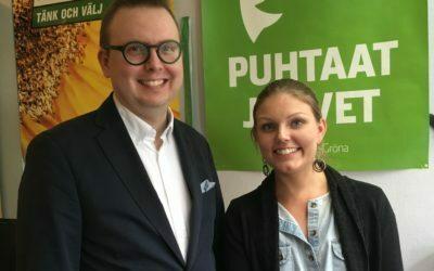 Tuomo Pekkanen valittiin Tampereen Vihreiden toiseksi puheenjohtajaksi